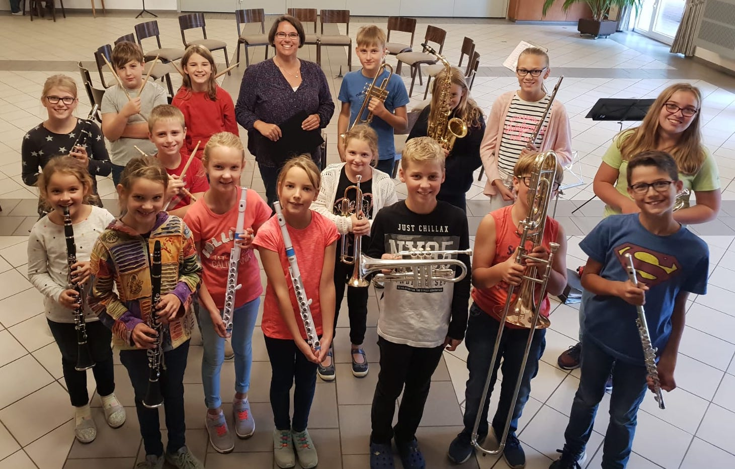 Neues Jugendorchester in Hassum