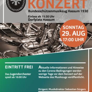 Open-Air-Konzert 2021 – Informationen